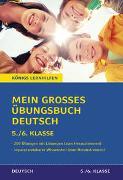 Cover-Bild zu Mein großes Übungsbuch Deutsch. 5./6. Klasse