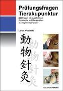 Cover-Bild zu Prüfungsfragen Tierakupunktur von Krokowski, Carola