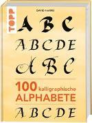 Cover-Bild zu 100 kalligraphische Alphabete von Harris, David