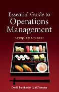 Cover-Bild zu Essential Guide to Operations Management von Baldwin, Adam