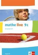 Cover-Bild zu mathe live 9E. Ausgabe W. Arbeitsheft mit Lösungsheft Klasse 9 (E-Kurs)