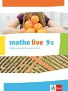 Cover-Bild zu mathe live 9. Schülerbuch 9 (G-Kurs). Ausgabe N, W und S ab 2014 / Ausgabe N