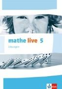 Cover-Bild zu mathe live. Lösungen 5. Schuljahr. Ausgabe W