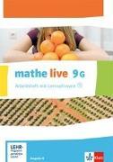 Cover-Bild zu mathe live. Arbeitsheft mit Lösungsheft und Lernsoftware 9 G-Kurs. Ausgabe N, W und S ab 2014