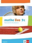 Cover-Bild zu Mathe live 9E. Ausgabe W. Schülerbuch Klasse 9 (E-Kurs)