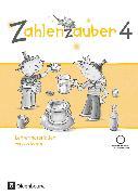 Cover-Bild zu Zahlenzauber, Mathematik für Grundschulen, Ausgabe Bayern 2014, 4. Jahrgangsstufe, Lehrermaterialien mit CD-ROM von Betz, Bettina