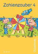 Cover-Bild zu Zahlenzauber, Mathematik für Grundschulen, Ausgabe G für Baden-Württemberg, Hessen, Rheinland-Pfalz und Saarland - 2010, 4. Schuljahr, Schülerbuch mit Kartonbeilagen von Betz, Bettina