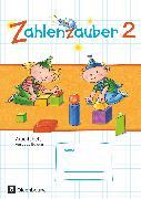 Cover-Bild zu Zahlenzauber, Mathematik für Grundschulen, Ausgabe Bayern 2014, 2. Jahrgangsstufe, Arbeitsheft, Mit Lösungsheft von Betz, Bettina