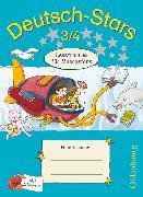 Cover-Bild zu Deutsch-Stars, Allgemeine Ausgabe, 3./4. Schuljahr, Lesetraining für Meeresfans, Übungsheft, Mit Lösungen von Scholtes, Cornelia