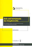Cover-Bild zu Ziele und Instrumente des Vergaberechts von Beyeler, Martin