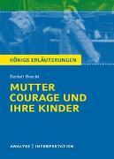 Cover-Bild zu Mutter Courage und ihre Kinder von Bertolt Brecht von Brecht, Bertolt