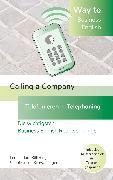 Cover-Bild zu Way to Business English - Calling a Company - Telefonieren - Telephoning (eBook) von Stillering, Leona Mara