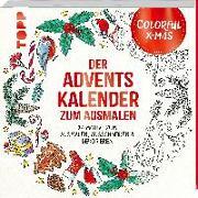 Cover-Bild zu Colorful Christmas - Der Adventskalender zum Ausmalen von Schwab, Ursula
