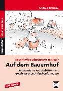 Cover-Bild zu Auf dem Bauernhof von Behnke, Andrea