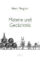 Cover-Bild zu Materie und Gedächtnis von Bergson, Henri