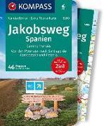 Cover-Bild zu KOMPASS Wanderführer Jakobsweg Spanien. 1:50'000 von Schwänz, Robert