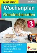 Cover-Bild zu Wochenplan Grundrechenarten / Klasse 3 (eBook) von Müller, Mila