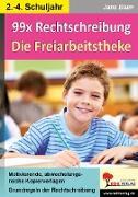 Cover-Bild zu 99x Rechtschreibung - Die Freiarbeitstheke (eBook) von Blum, Jana