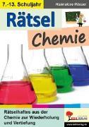 Cover-Bild zu Rätsel Chemie (eBook) von Rössel, Hannelore