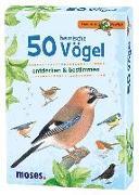 Cover-Bild zu 50 heimische Vögel von Kessel, Carola von