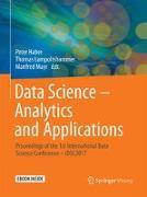 Cover-Bild zu Data Science - Analytics and Applications von Haber, Peter (Hrsg.)