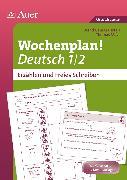 Cover-Bild zu Wochenplan Deutsch 1/2, Erzählen/Freies Schreiben von Mayr, Thomas
