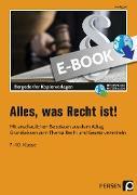 Cover-Bild zu Alles, was Recht ist! (eBook) von Eggert, Jens
