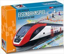 Cover-Bild zu Das Schweizer Eisenbahnspiel - Jeu du chemin de fer suisse