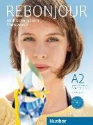 Cover-Bild zu Rebonjour. Lehr- und Arbeitsbuch mit Audio-CD von Laudut, Nicole