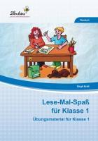 Cover-Bild zu Lese-Mal-Spaß für Klasse 1 (PR) von Kraft, Birgit