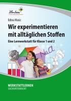 Cover-Bild zu Wir experimentieren mit alltäglichen Stoffen (PR) von Masic, Edina