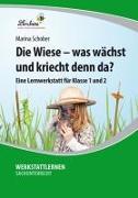 Cover-Bild zu Die Wiese - was wächst und kriecht denn da? (PR) von Schober, Marina