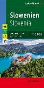 Cover-Bild zu Slowenien, Autokarte 1:150.000, Top 10 Tips. 1:150'000 von Freytag-Berndt und Artaria KG (Hrsg.)