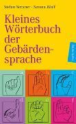 Cover-Bild zu Kleines Wörterbuch der Gebärdensprache von Strixner, Stefan