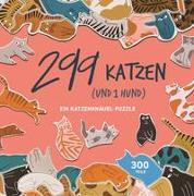 Cover-Bild zu 299 Katzen (und 1 Hund) von Maupetit, Léa