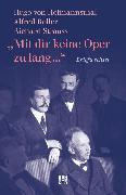 """Cover-Bild zu """"Mit dir keine Oper zu lang ..."""" (eBook) von Strauss, Richard"""