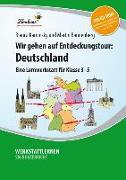 Cover-Bild zu Wir gehen auf Entdeckungstour: Deutschland (Set) von Bannenberg, Martin