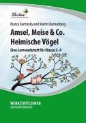 Cover-Bild zu Amsel, Meise & Co: Heimische Vögel von Bannenberg, Martin