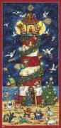 Cover-Bild zu Weihnacht am Leuchtturm Adventskalender von Broeske-Haas, Monika (Illustr.)