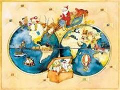 """Cover-Bild zu Adventskalender """"Reise um die Welt"""" von Jacobi, Susann"""