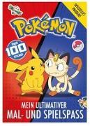 Cover-Bild zu Pokémon: Mein ultimativer Spiel- und Malspaß