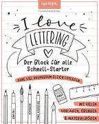 Cover-Bild zu I Love Lettering von Landschützer, Cornelia