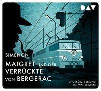 Cover-Bild zu Maigret und der Verrückte von Bergerac von Simenon, Georges