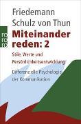 Cover-Bild zu Miteinander reden 2 von Schulz von Thun, Friedemann