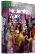 Cover-Bild zu Modernist Work von Pfläging, Niels