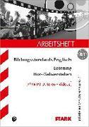 Cover-Bild zu Arbeitsheft Bildungsstandards Englisch - Mittlerer Schulabschluss B1 - Listening von Jacob, Rainer