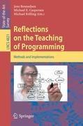Cover-Bild zu Reflections on the Teaching of Programming von Bennedsen, Jens (Hrsg.)