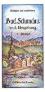 Cover-Bild zu Bad Schandau und Umgebung 1 : 10 000 von Böhm, Rolf