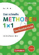 Cover-Bild zu Das schnelle Methoden 1x1 - Grundschule, Sachunterricht (3. Auflage), Mit Arbeitsmaterialien, Buch von Blaseio, Beate