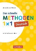 Cover-Bild zu Das schnelle Methoden 1x1 - Grundschule, Deutsch (3. Auflage), Mit Arbeitsmaterialien, Buch von von Plüskow-Kaminski, Alexandra